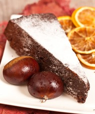 Gâteau aux marrons glacés de Francine