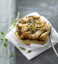 Tatin foie gras de Pascale