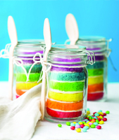 Rainbow cake, magique arc-en-ciel